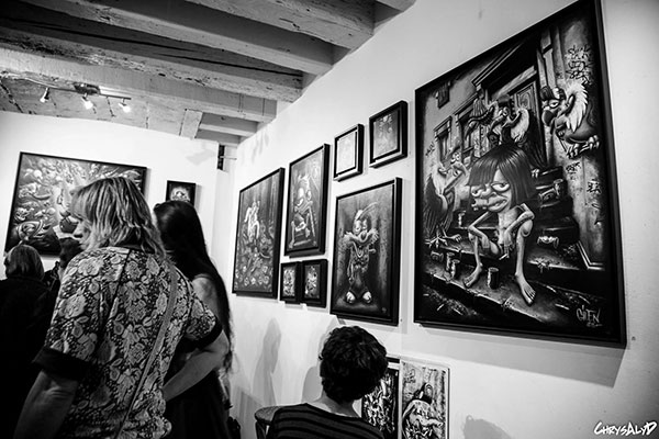 "Exposition Gilen cartoon""Clucth Art Book"" / Green Galerie (Toulouse)"