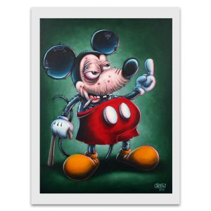 Gilen Art, Mickey, reproduction 42x32cm
